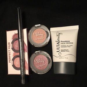 Ulta Primer, Eyeshadows, and Liner